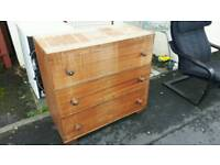 Heavy Solid Chest of Drawers