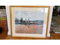 Large Picture Gold Framed From John Lewis - Monet Poppy Field near Vétheuil Print
