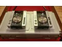Pioneer cdj200 s cd decks mint