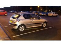 Peugeot 1.4 petrol. 137k on clock. Very chip and clean car. MOT more than 3 months