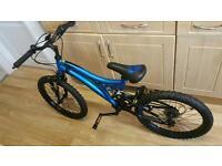 Blue Muddy Fox Bike