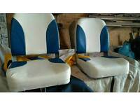 To like new boat seats and to new plastimo life jackets and other bits
