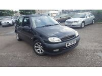 Citroen Saxo 1.6 VTR Petrol 2000 With MOT Till End Of August 2017 Good Condition P/X WELCOME