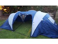 Large tent 3 rooms