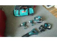 Makita 18v set