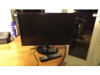 LG M2280D 22inch LCD TV with Remote
