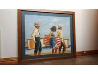 Jack Vettriano painting by Vellini framed.