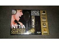NT1-A The World's Quietest Studio Microphone Rode
