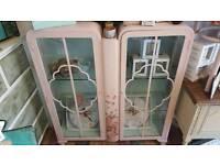 Vintage Uocycled China Cabinet