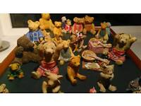 Large collection of Colourbox Teddies