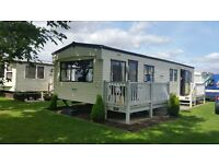 8 berth 3 beds static caravan to rent in Ingoldmells Skegness