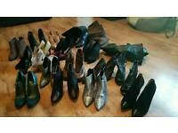 various womens boots in size 5