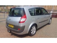 7 SEATER RENAULT GRAND SCENIC 1.6 MANUAL IN CLEAN CONDITION. LONG MOT. FULL SERVICE HISTORY. 2 KEYS