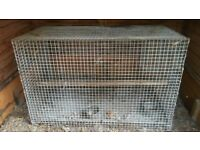 **Priced to go ASAP* *Chinchilla / Degu Cage with two Stainless feed bowls