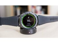 Samsung Gear S3 Frontier Black Boxed With Samsung Warranty