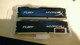 HyperX 2 x 4Gb memory