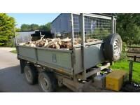 Barn stored hardwood logs!