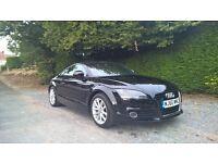 Audi TT TDI Quattro Coupe Manual Black 2010 (60) Sat Nav 12m MOT