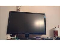 "HannsG HE225DPB 21.5"" Monitor - Full HD, DVI & VGA Inputs, built-in speakers."
