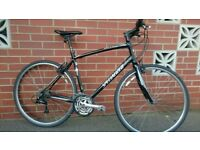 Specialized Sirrus gents mens sports hybrid city town flat bar road bike bicycle fully serviced