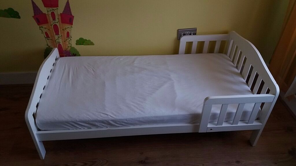 Mothercare Toddler Bed With Spring Mattress And Waterproof