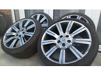 """Wheels and tyres 20"""" (smoked) t5 Transporter"""