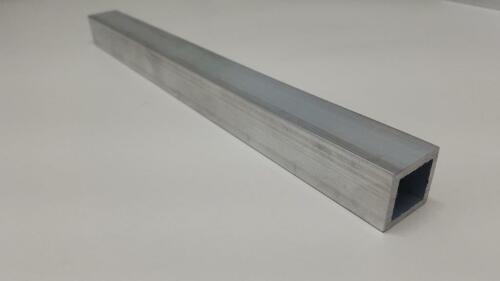 "6063 Aluminum Tube 1"" Square, 1/8"" Walls, 12"" long, Hollow"