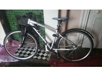 Road Bike for Sale with fairly new tyres and bike lock included