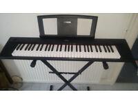 Yamaha Piaggero NP-11 keyboard with stand