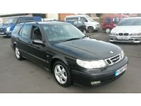 Saad 9-5 estate car 2.0l turbo fully loaded px welcome