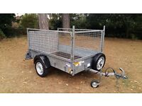 IFOR WILLIAMS TRAILER P6e FULLY CAGED IVOR WILLIAMS PLANT GARDEN MOTO X QUAD CAR TRAILOR BIKE
