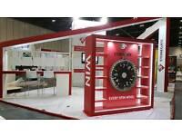 Exhibition stand carpenter/trainee
