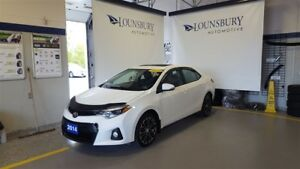 2014 Toyota Corolla S - WINTER TIRES AND SUNROOF!