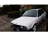 White BMW e30 4 door 316i for sale