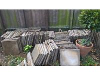 Patio Paving Tiles 30 x 30cm to cover 3m x 9m