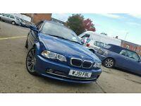 2001 BMW 330CI 3.0 COUPE SPORT FSH FULL LEATHER DVD PLAYER 330 CI 323 325i 325 320i 320 328i 328 E46