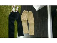 Boys trouser bundle age 5-6 years