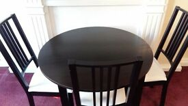 IKEA table and chairs for sale