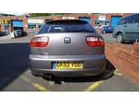 Seat Leon Cupra 1.8T 180Bhp 2cambelt changes, loads and loads of paperwork 90k