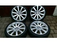 Lots of Alloys to fit volkswagen, Audi, seat, skoda, Mercedes