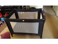 Red Kite Travel Cot.