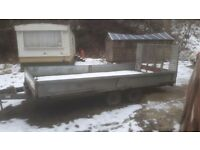14FT BATESON TIPPING TRAILER