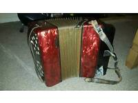 Black Button Double Ray HOHNER Accordion