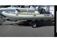 Rib boat 4.90m