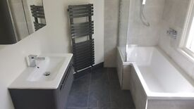 Bathroom and kitchen fitter, painting and decorating, plaster, tiling, plumbing, electrical works