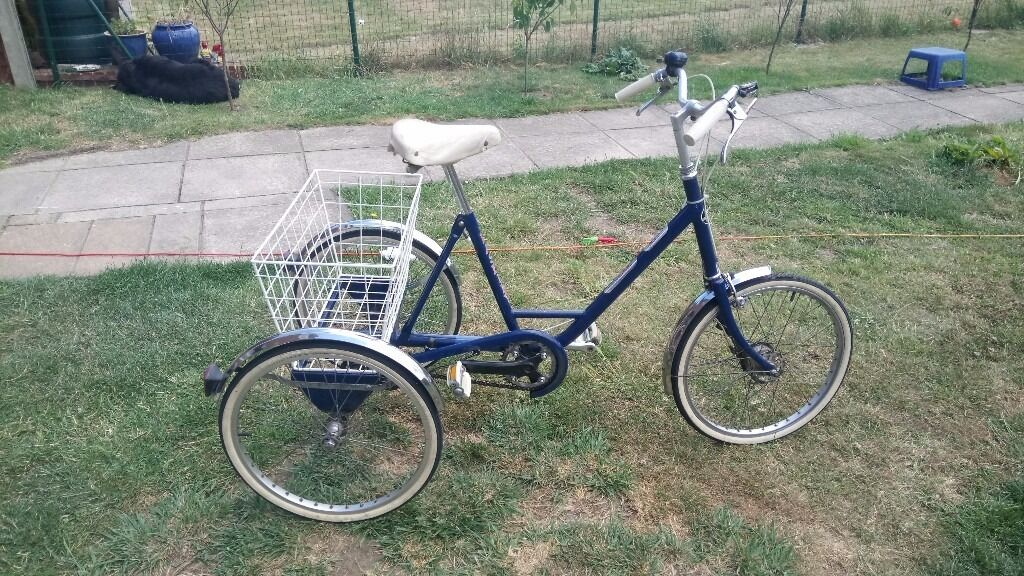 Vintage Pashley Picador Plus adult tricyclein Rochester, KentGumtree - For sale Pashley picador plus adult tricycle in very good condition, comes with white basket, 3 speed gears, bell. Collection from Lower Stoke in Kent. Cash on collection