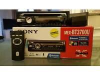 SONY MEX BT3700U USB,HANDSFREE,BLUETOOTH,CAR STEREO