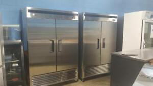MATCHING DOUBLE DOOR COOLER AND FREEZER