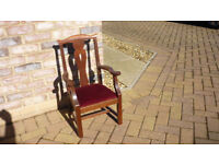 Traditional childs chair.