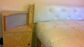 Wardrobe, dressing table and headboard for sale